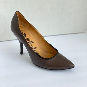 Lanvin Brown Leather Pumps